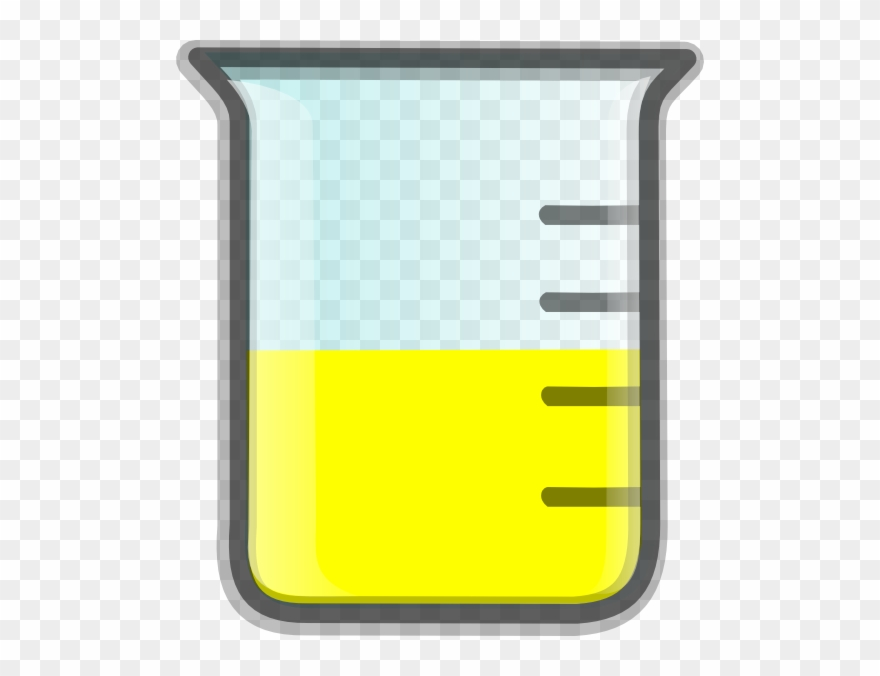 Yellow liquid clipart image black and white download Yellow Water Cliparts - Beaker With Yellow Liquid Clipart ... image black and white download