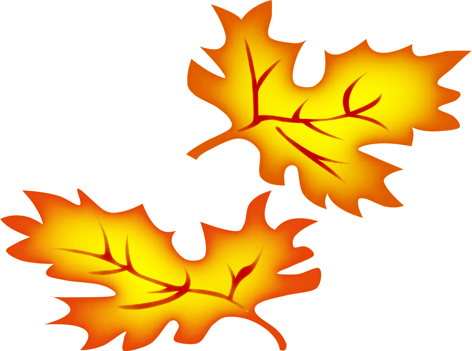 Yellow oak leaf clipart picture royalty free library Oak Leaves Clipart | Free download best Oak Leaves Clipart ... picture royalty free library