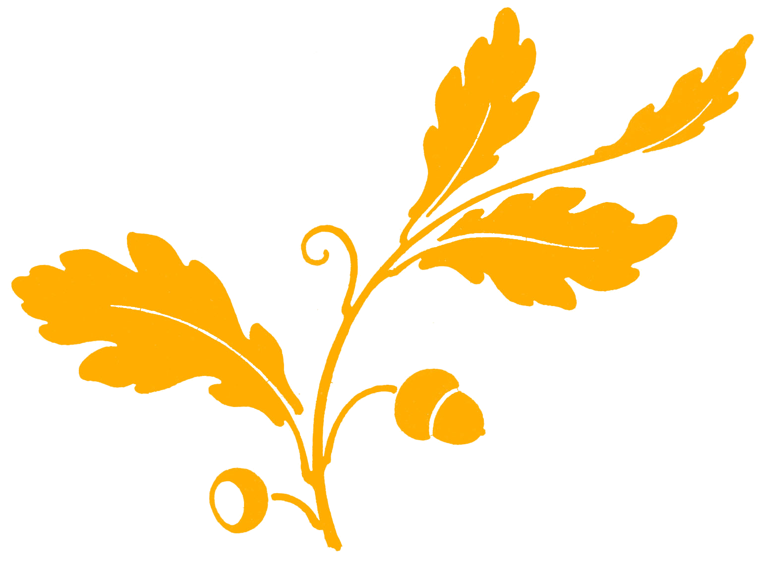 Yellow oak leaf clipart clipart free stock leaves | Craft Thanksgiving | Leaf silhouette, Oak leaf ... clipart free stock