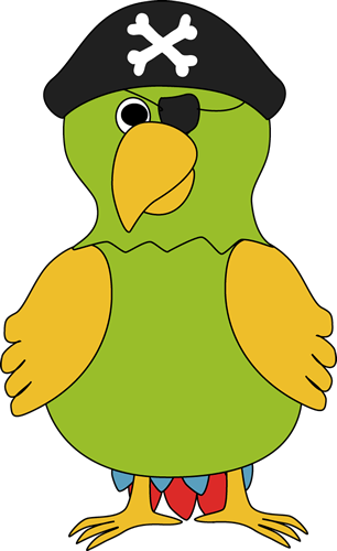 Yellow parrot pirate clipart picture library library Pirate Parrot Clip Art - Pirate Parrot Image | aplike ... picture library library