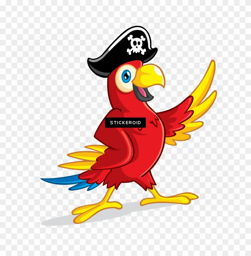 Yellow parrot pirate clipart picture royalty free Pirate Parrot - Pirate Parrot Png Clipart (#3317983 ... picture royalty free