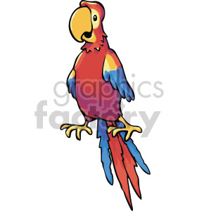 Yellow parrot pirate clipart svg transparent library parrot clipart - Royalty-Free Images | Graphics Factory svg transparent library