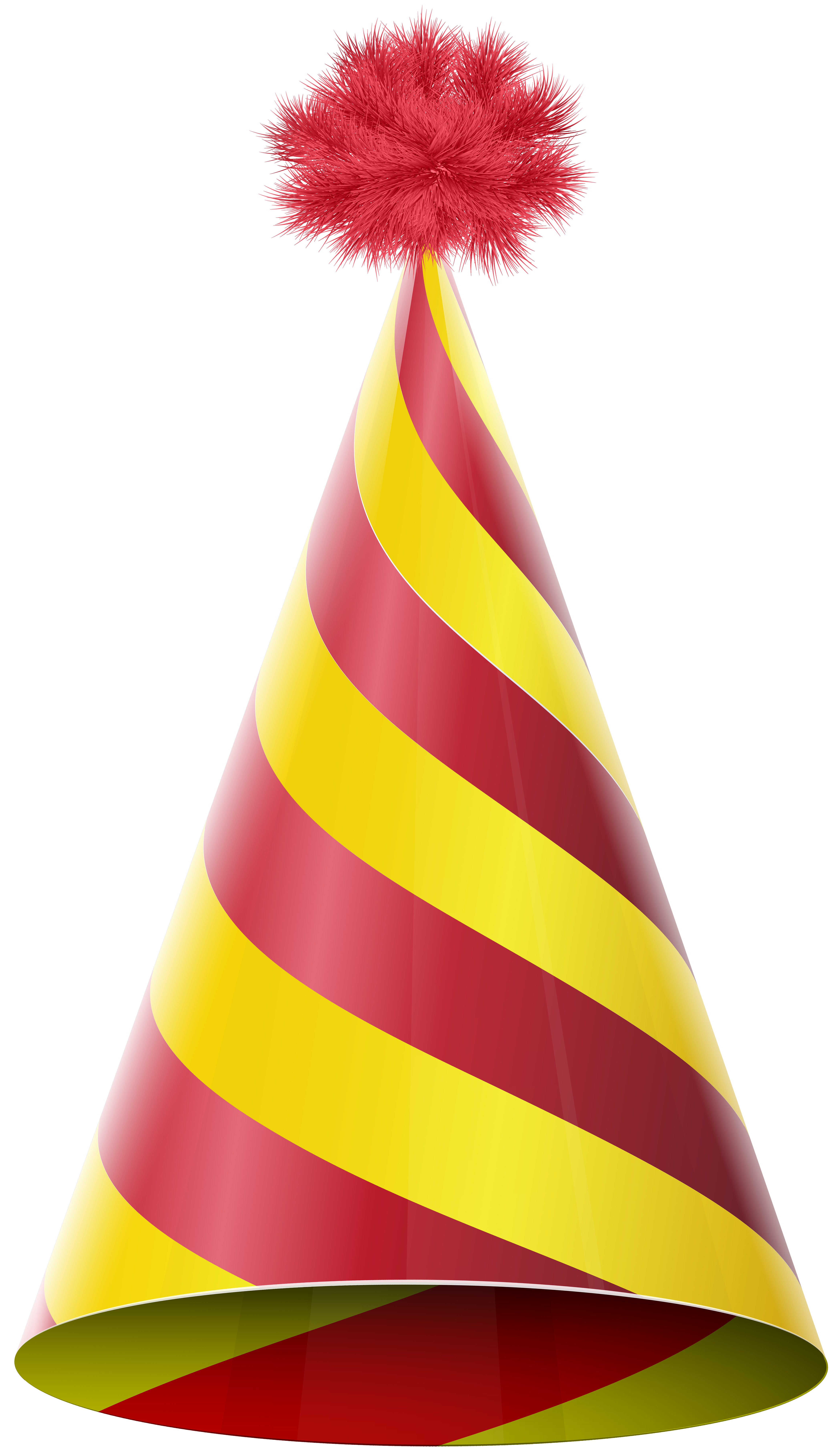 Yellow party hat clipart banner free Party Hat Red Yellow Transparent PNG Clip Art Image ... banner free