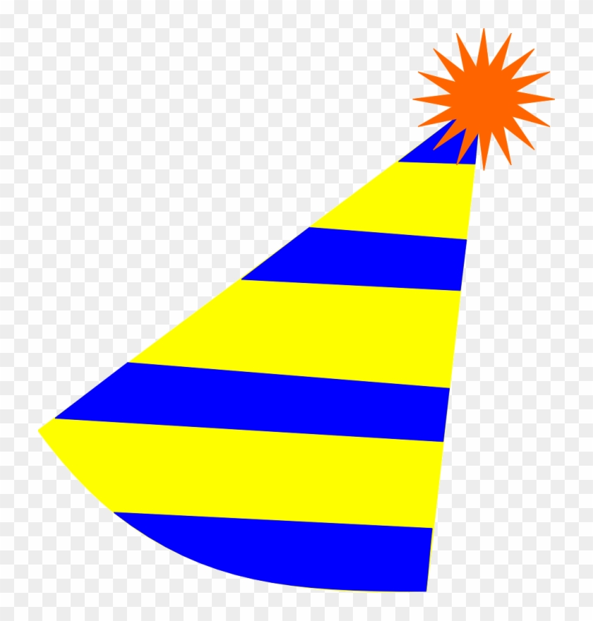 Yellow party hat clipart vector Birthday Hat Clipart Yellow - Party Hat Cartoon Transparent ... vector