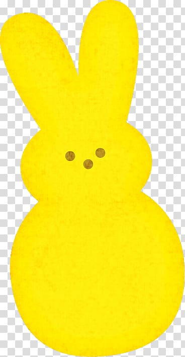 Yellow peeps clipart graphic royalty free stock Peeps Cotton candy , yellow bunny transparent background PNG ... graphic royalty free stock
