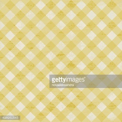 Yellow plaid clipart