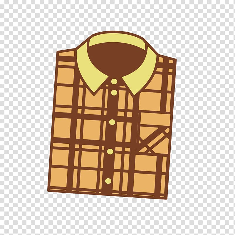 Yellow plaid clipart image free library T-shirt Yellow Top, yellow plaid shirt transparent ... image free library