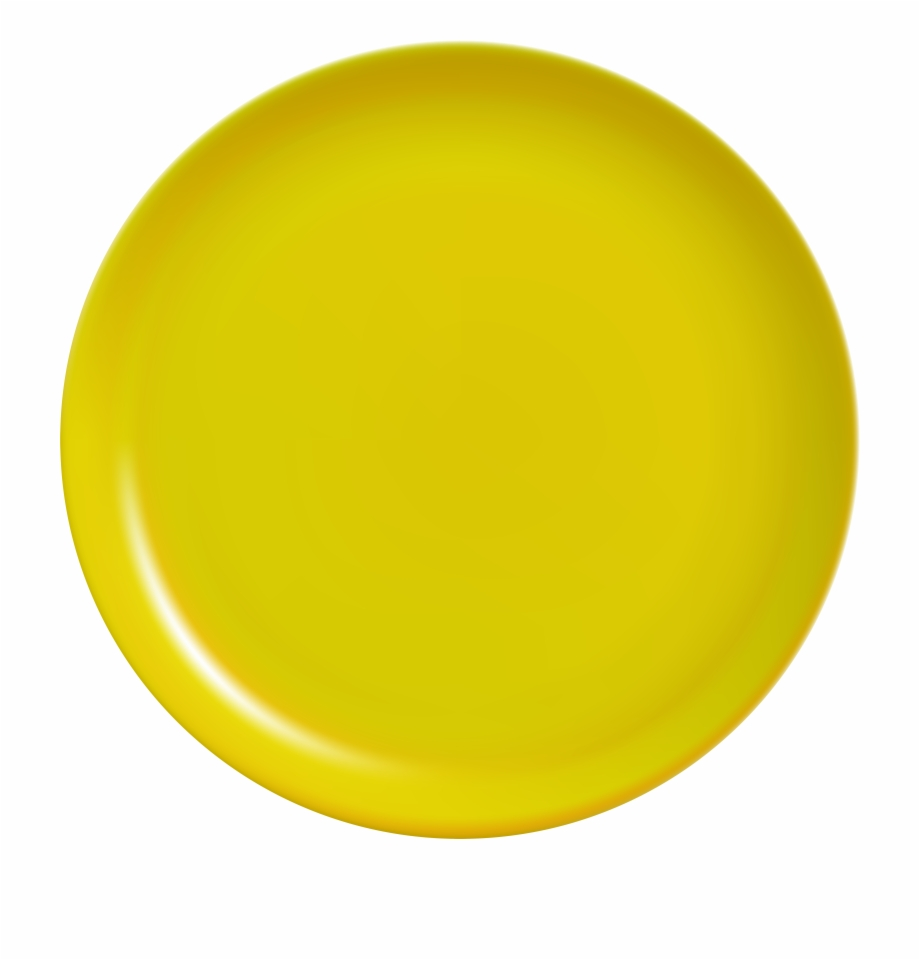 Yellow plate clipart png transparent download Yellow Plate Png Clip Art - Yellow Plate Png Free PNG Images ... png transparent download