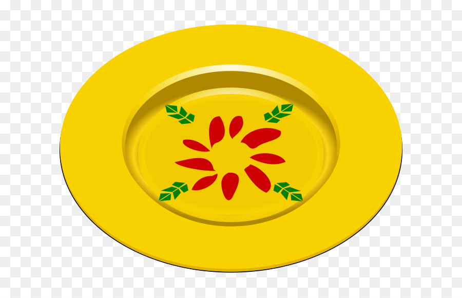 Yellow plate clipart picture freeuse download Flower Symbol clipart - Plate, Yellow, Flower, transparent ... picture freeuse download