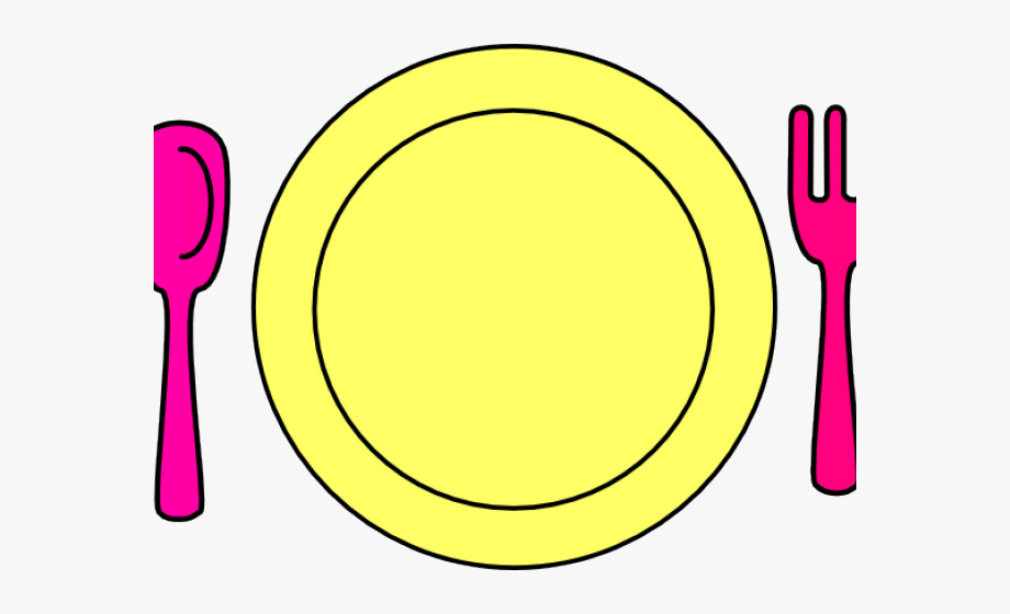 Yellow plate clipart svg stock Dinner Plate Clipart Transparent - Circle #88350 - Free ... svg stock