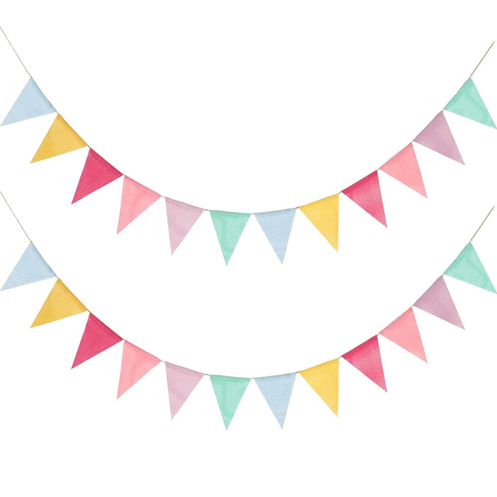 Yellow puple and green flag banner clipart png transparent Amazon.com: Juland 24 Flags Multicolor Pennant Banner ... png transparent