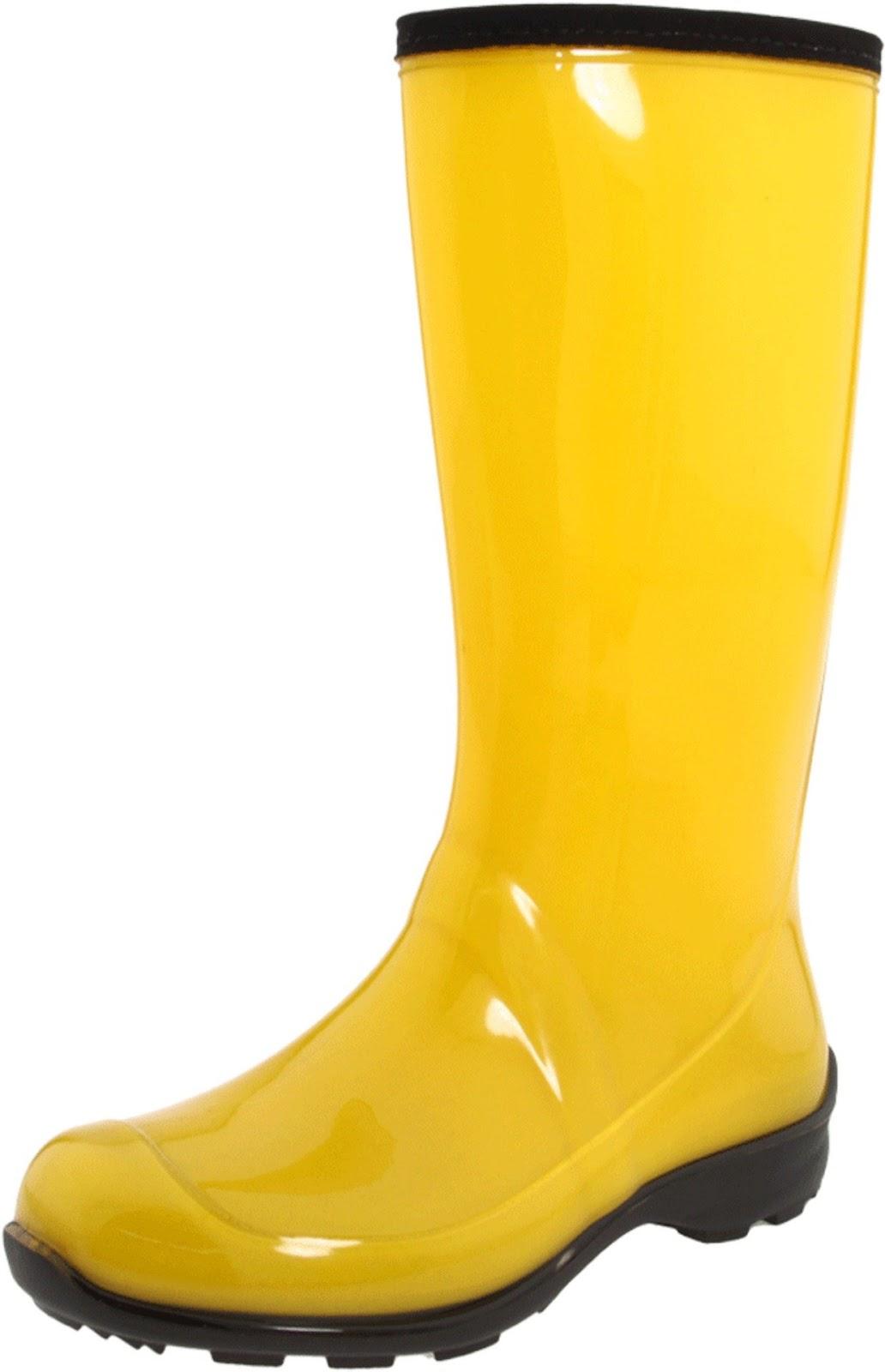 Yellow rain boot clipart graphic free stock Yellow Rain Boots - Viewing | Clipart Panda - Free Clipart ... graphic free stock