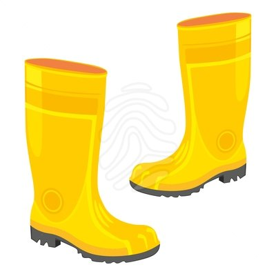 Yellow rain boot clipart vector library download Rain Boots Clipart - Free Clipart vector library download