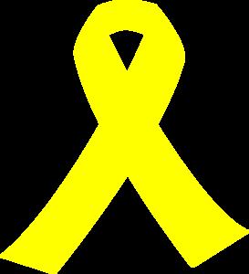 Yellow ribbon images clipart transparent download Yellow Ribbon Clip Art at Clker.com - vector clip art online ... transparent download