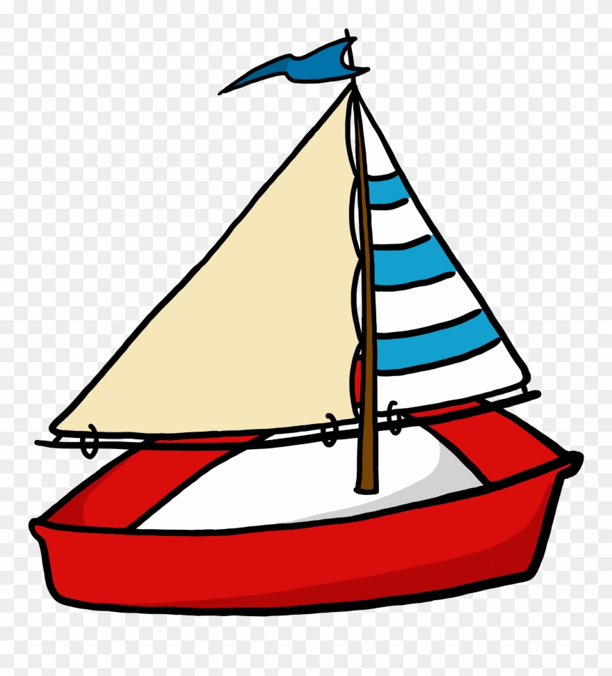 Mast clipart graphic free stock Toy Sailboat Clipart - Boat Clipart Transparent Background ... graphic free stock