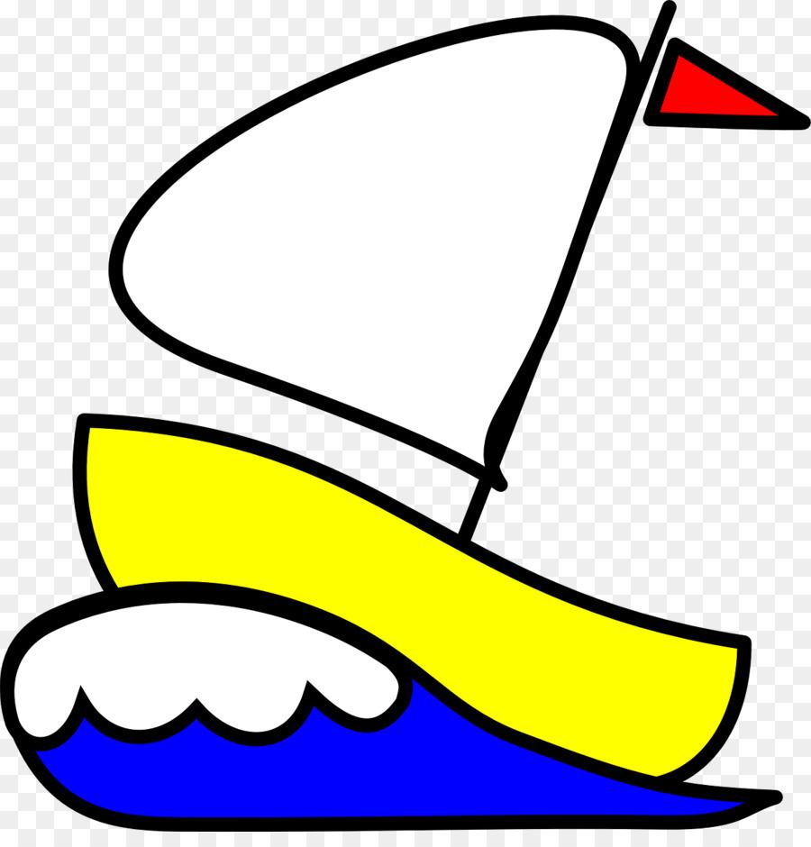Yellow sailboat clipart clip art royalty free library Boat Cartoon clipart - Sailboat, Boat, transparent clip art clip art royalty free library