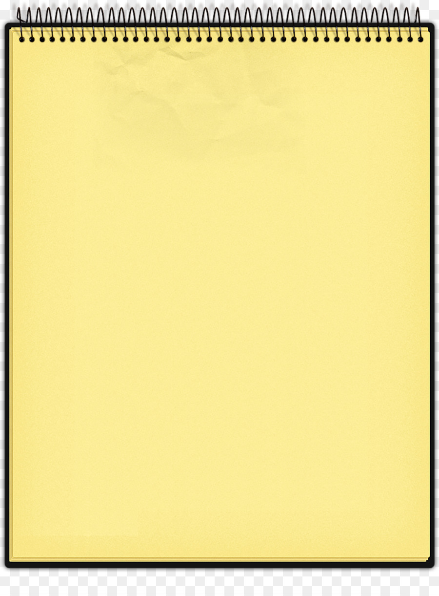 Yellow school notepad clipart graphic black and white download Background Yellow Frame png download - 1419*1915 - Free ... graphic black and white download