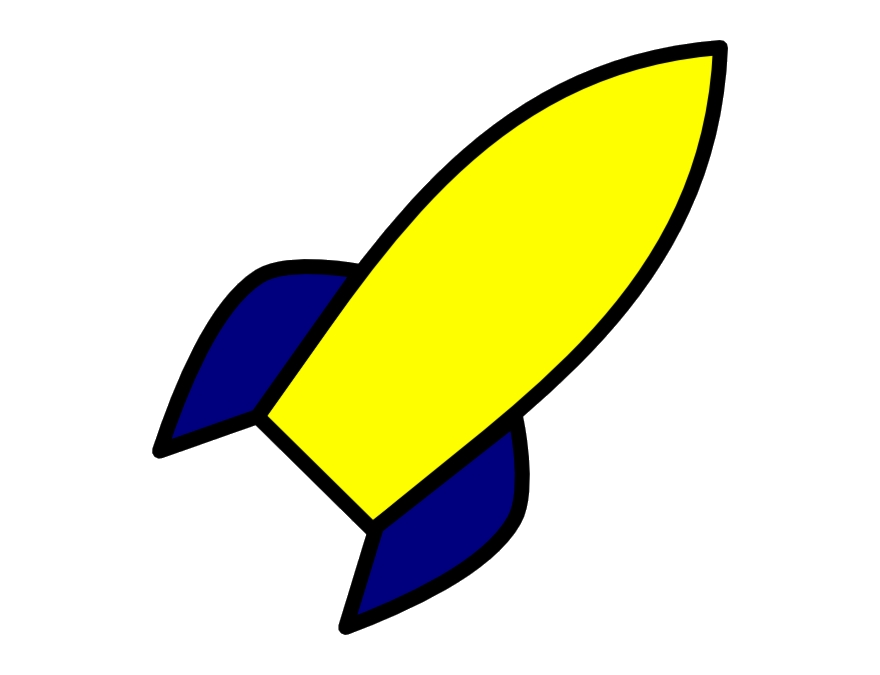 Yellow ship clipart clip art free download Rocket Ship Rocketship Clipart The Blue And Yellow Png - AZPng clip art free download