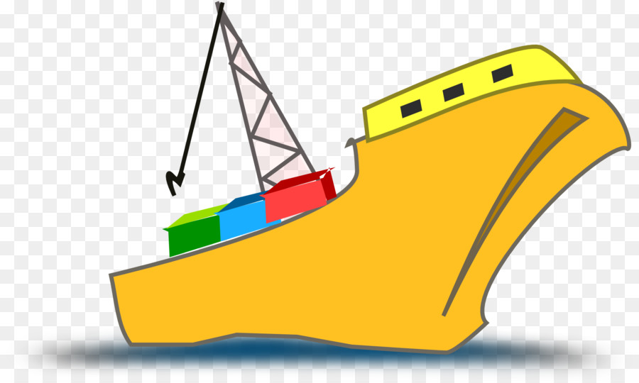 Yellow ship clipart jpg library library Fishing Cartoon clipart - Ship, Boat, Yellow, transparent ... jpg library library