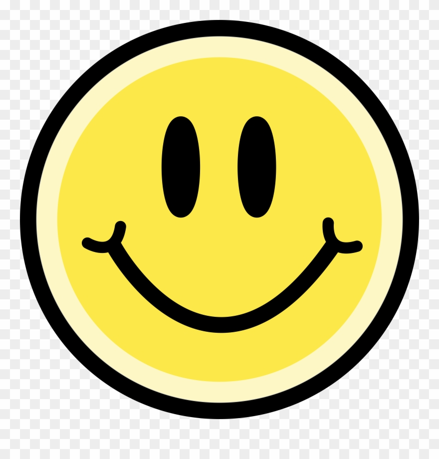 Yellow face clipart image library library Clipart Yellow Big Image Png - Yellow Smiley Face ... image library library