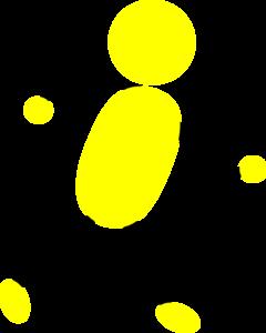 Yellow stick figure clipart clip art library library Yellow Man Running Clip Art at Clker.com - vector clip art ... clip art library library