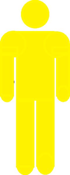 Yellow stick figure clipart svg stock Yellow Stick Figure Clip Art at Clker.com - vector clip art ... svg stock