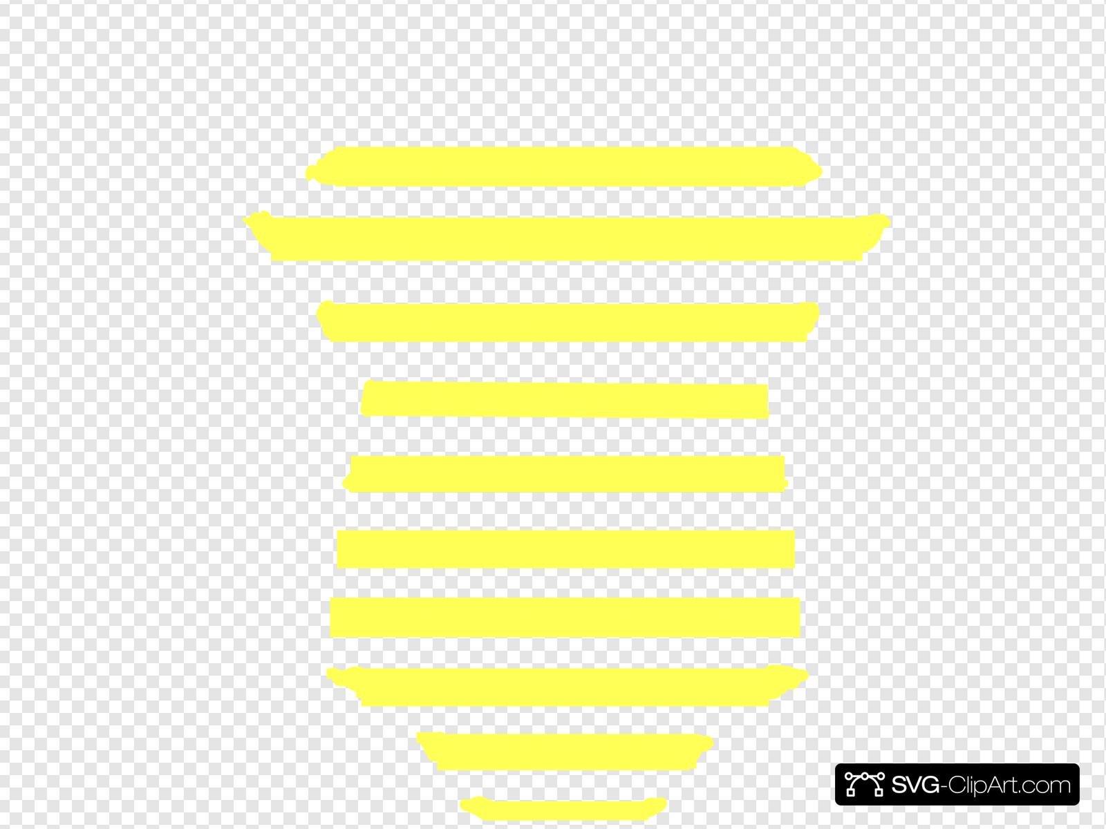 Yellow striped onesie clipart graphic black and white Yellow Striped Onesie Clip art, Icon and SVG - SVG Clipart graphic black and white