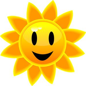 Yellow sun happy face clipart png black and white download sun clip art | Sunny Clip Art Images Sunny Stock Photos ... png black and white download