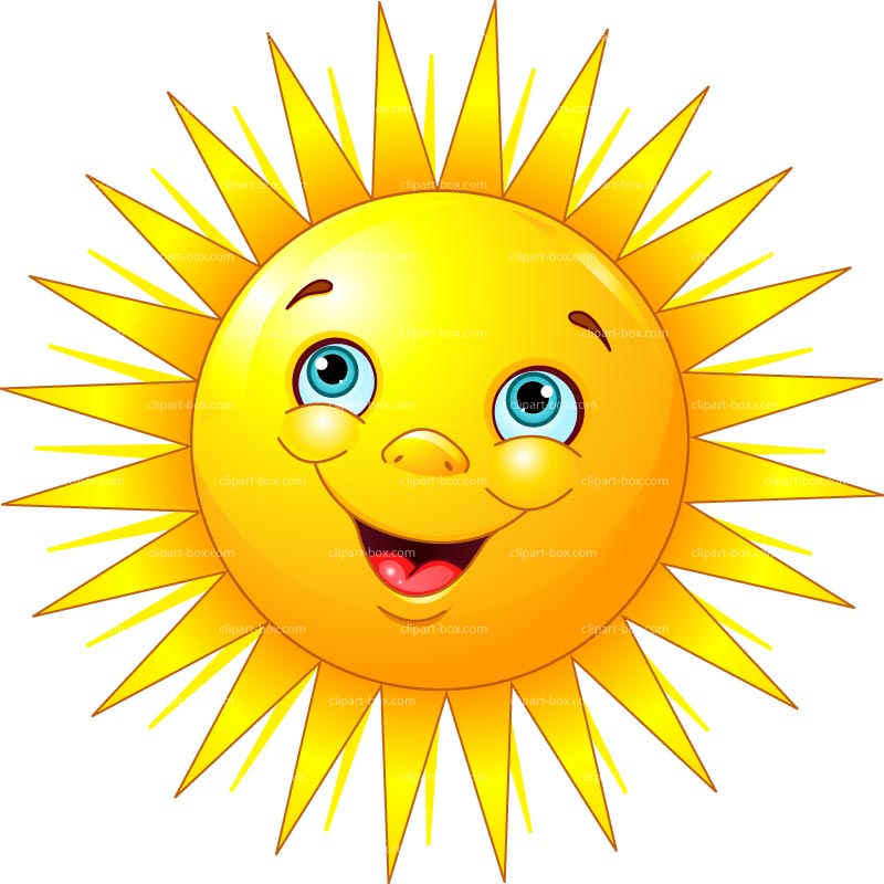 Yellow sun happy face clipart image free Smiling Sun Images Clipart | Free download best Smiling Sun ... image free
