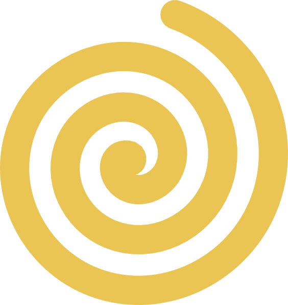 Yellow sun spiral clipart banner black and white stock Yellow Gold Spiral Clip Art at Clker.com - vector clip art online ... banner black and white stock