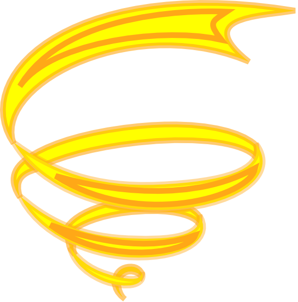 Yellow sun spiral clipart png royalty free Spiral-yellow Clip Art at Clker.com - vector clip art online ... png royalty free
