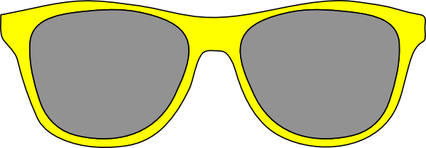 Yellow sunglasses clipart image library download Free Yellow Sunglasses Cliparts, Download Free Clip Art ... image library download
