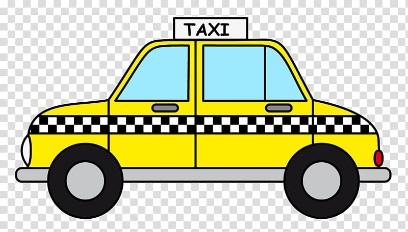 Yellow taxi clipart clip black and white download Manhattan Taxicabs of New York City Yellow cab , Comic Book ... clip black and white download