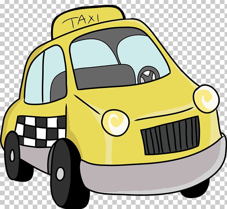 Yellow taxi clipart banner black and white library Taxi Yellow Cab Checker Motors Corporation PNG, Clipart ... banner black and white library