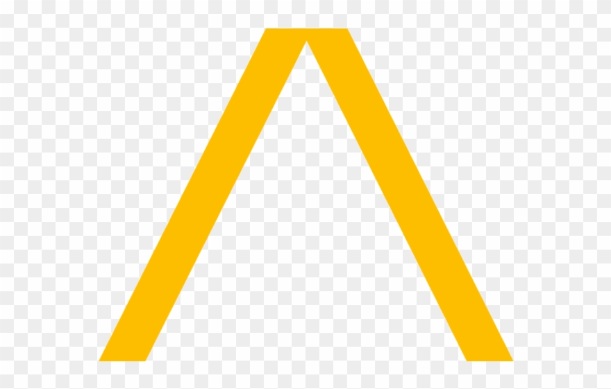 Yellow triangle clipart image black and white download Triangle Clipart Yellow Triangle - Triangle - Png Download ... image black and white download