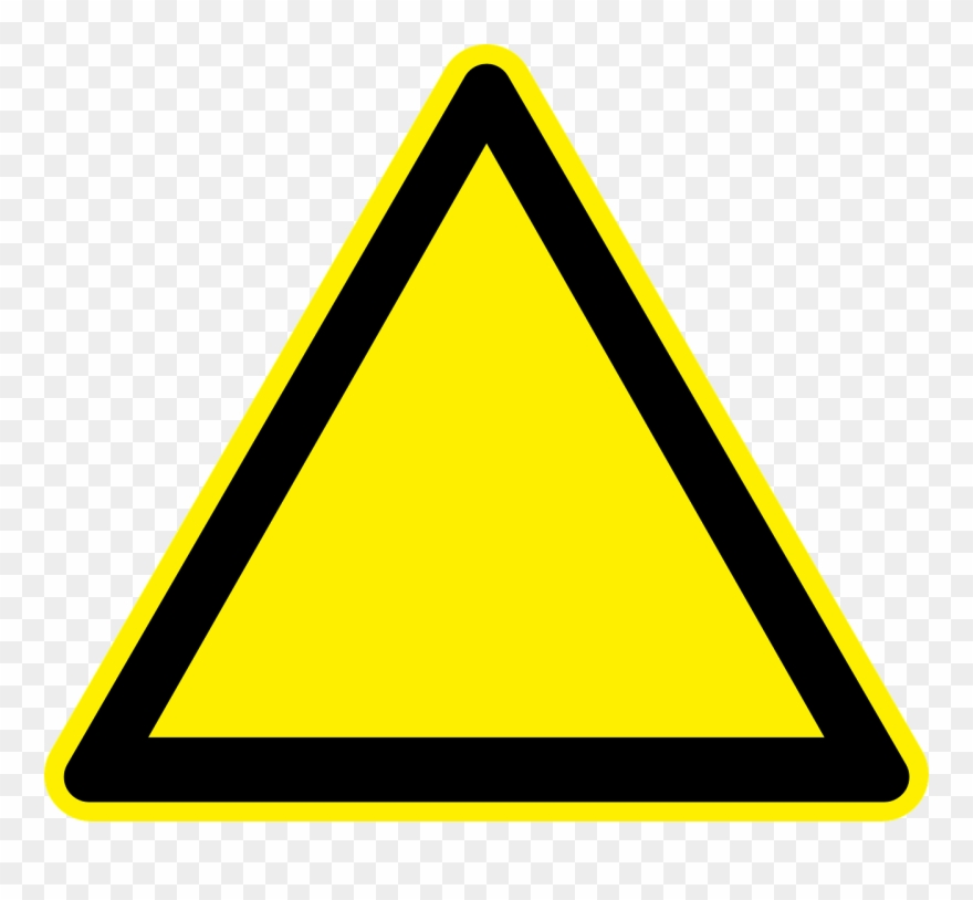 Yellow triangle clipart clip Clipart Info - Yellow Triangle Road Sign Png Transparent Png ... clip
