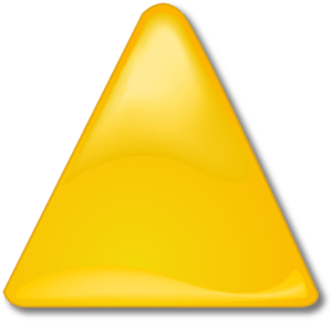 Yellow triangle clipart clip library library Yellow Triangle Cliparts - Cliparts Zone clip library library
