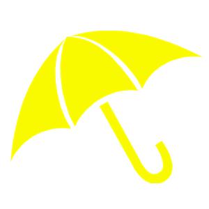 Yellow umbrella clipart vector royalty free download Yellow Umbrella clipart, cliparts of Yellow Umbrella free ... vector royalty free download