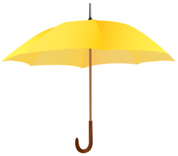Yellow umbrella clipart transparent picture freeuse library Yellow Umbrella PNG Clipart Image | Gallery Yopriceville ... picture freeuse library