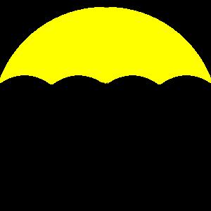 Yellow umbrella clipart transparent clipart transparent stock Yellow Umbrella Black Handle Clip Art | Bachelorette/Bridal ... clipart transparent stock
