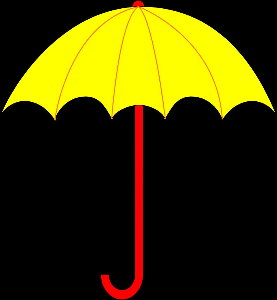 Yellow umbrella clipart transparent image free stock Umbrella | Free Stock Photo | Illustration of a yellow ... image free stock