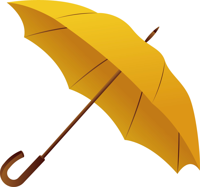 Yellow umbrella clipart transparent clipart black and white Umbrella Gadget Color - Yellow umbrella png download - 3002 ... clipart black and white