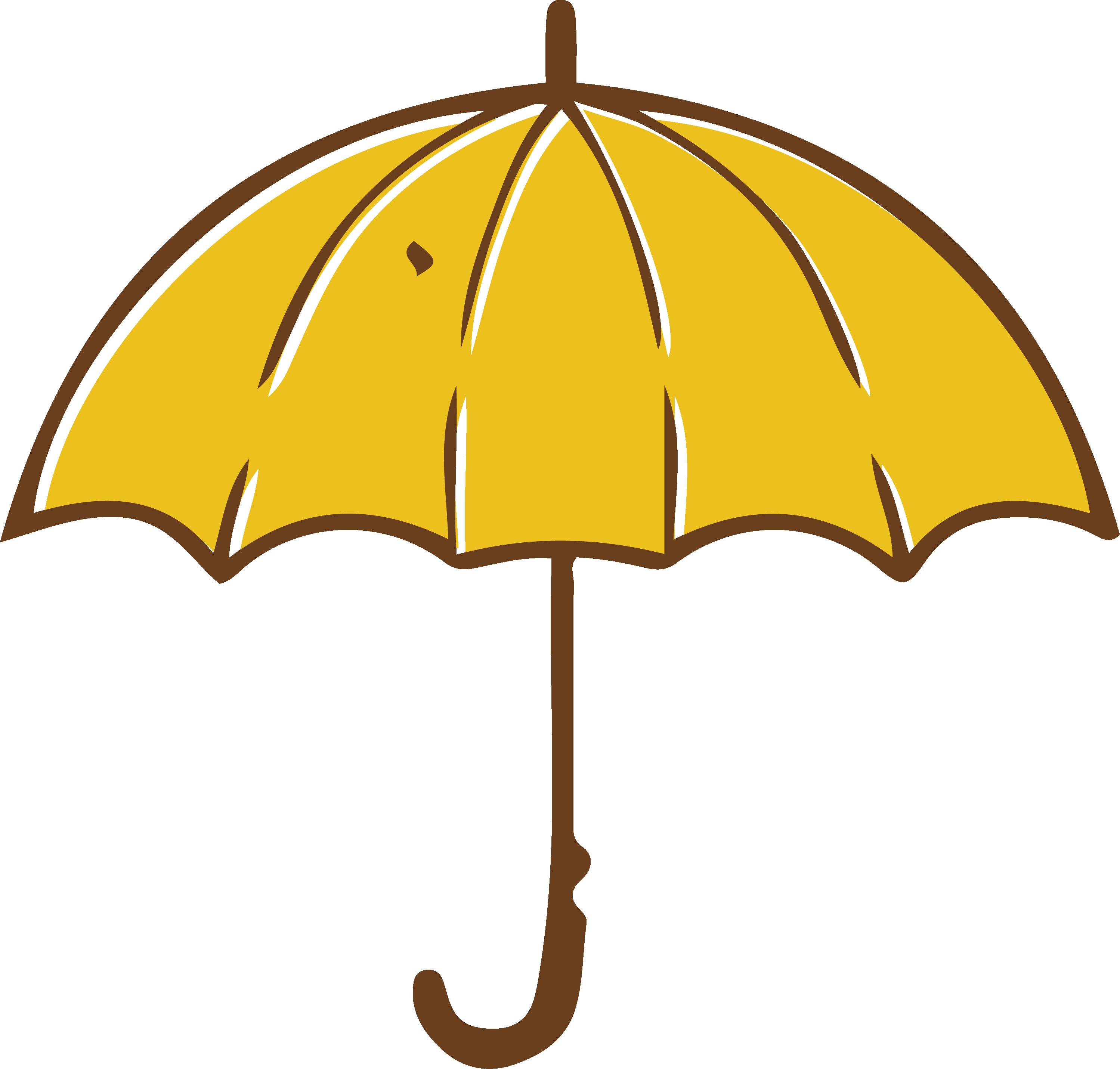 Yellow umbrella clipart transparent Umbrella Yellow Clip art - Yellow umbrella png download ... transparent