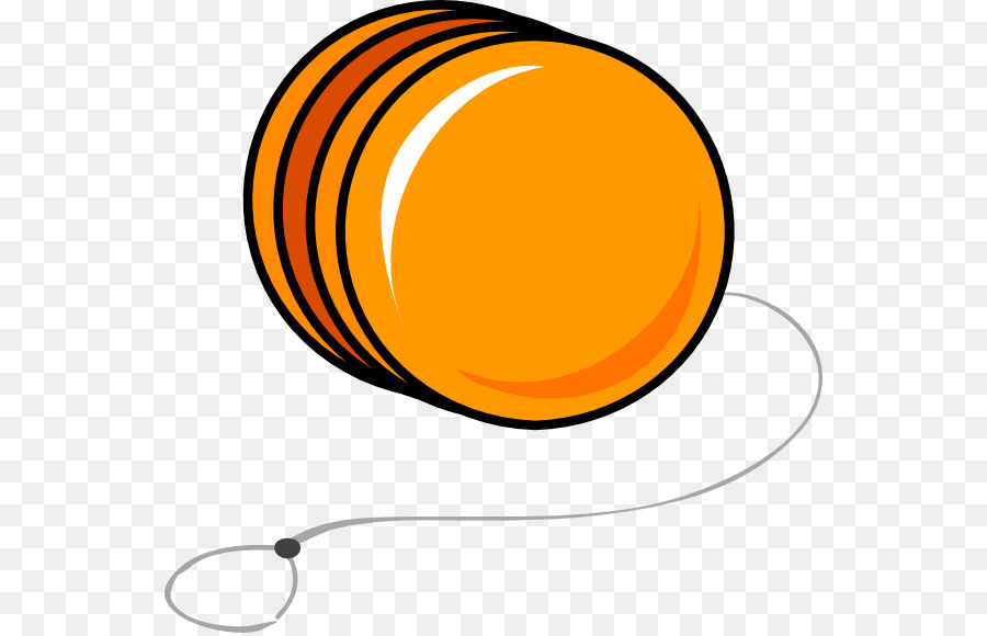 Yellow yoyo clipart picture royalty free Yellow Circle png download - 600*577 - Free Transparent Yoyo ... picture royalty free