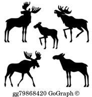 Yellowstone clipart silhouette jpg free Yellowstone Clip Art - Royalty Free - GoGraph jpg free