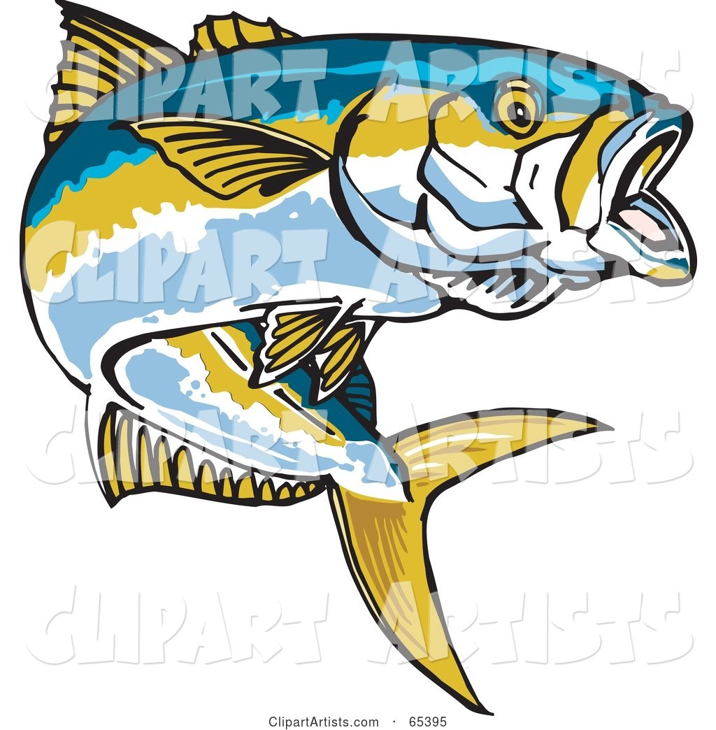 Yellowtail clipart image royalty free library Yellow Tail Cliparts - Making-The-Web.com image royalty free library