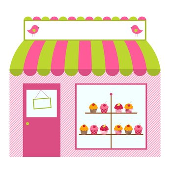Yelp clipart vector royalty free Cute Bakery Clipart - Clipart Kid vector royalty free