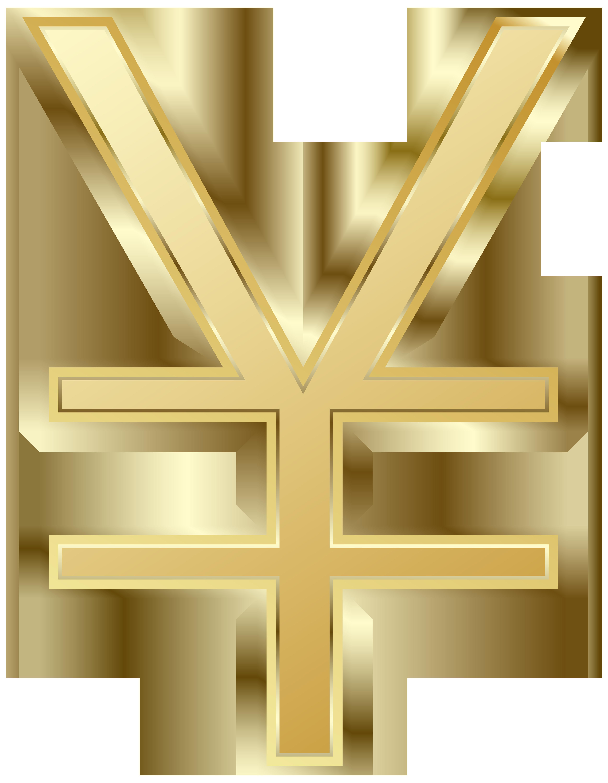 Yen symbol clipart graphic royalty free download Japanese Yen Symbol PNG Clip Art Image | Gallery ... graphic royalty free download