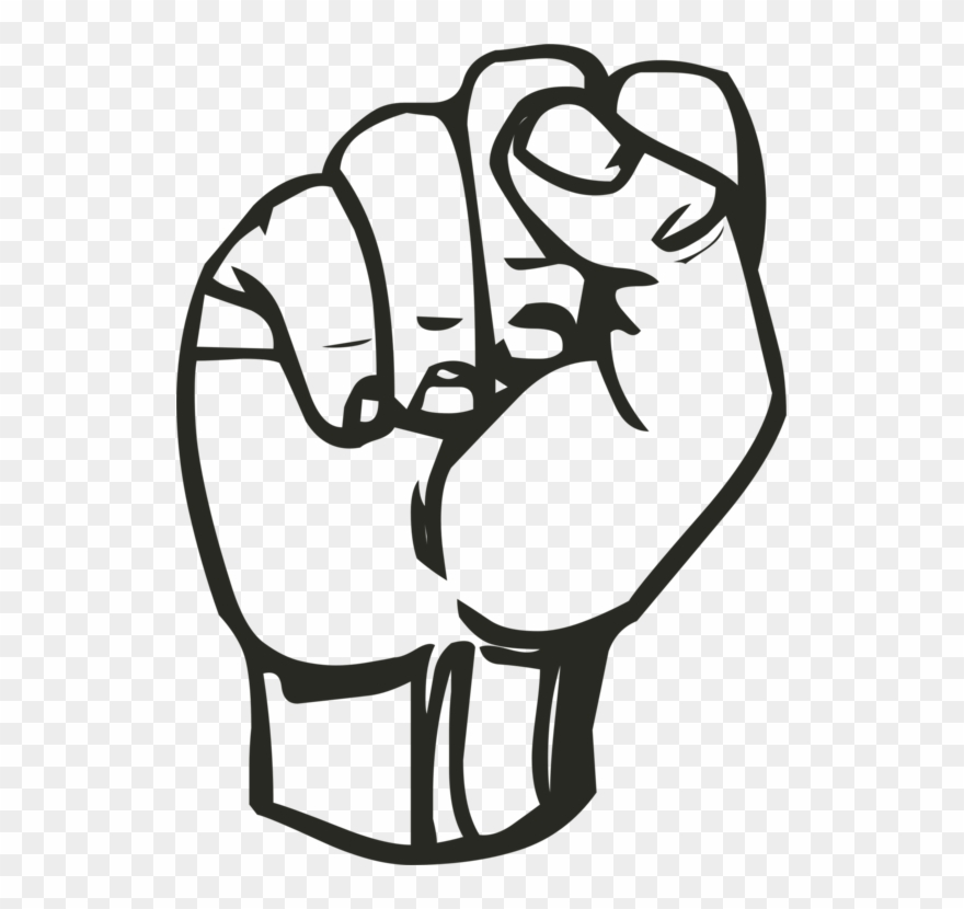 Yes fist clipart jpg free download Png Royalty Free Download American Clipart Fist - Sign ... jpg free download