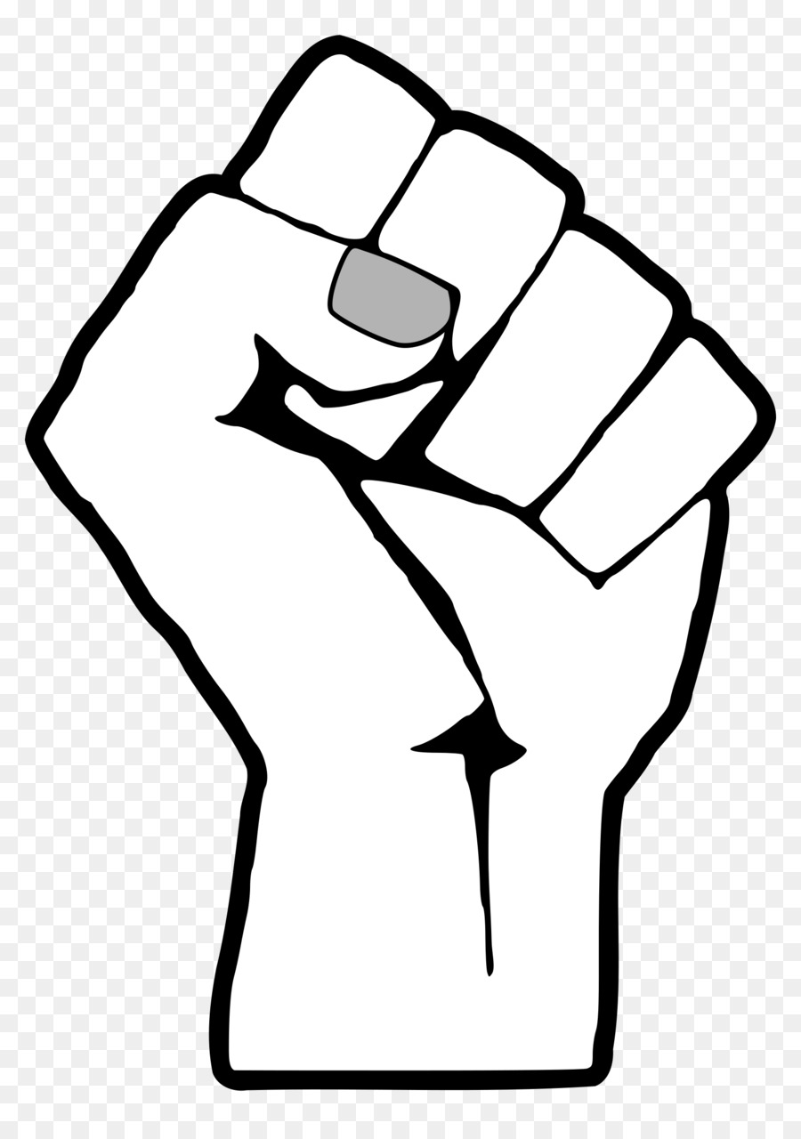 Yes fist clipart graphic royalty free Black Power Fist clipart - White, Black, Hand, transparent ... graphic royalty free